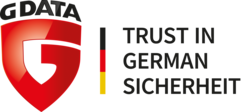 G DATA Logo | Trust in German Sicherheit